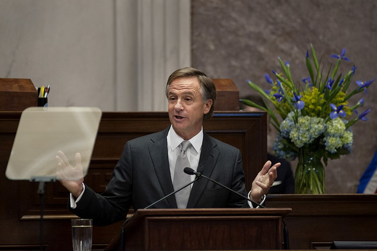 Bill Haslam has been Tennessee's governor since 2011.