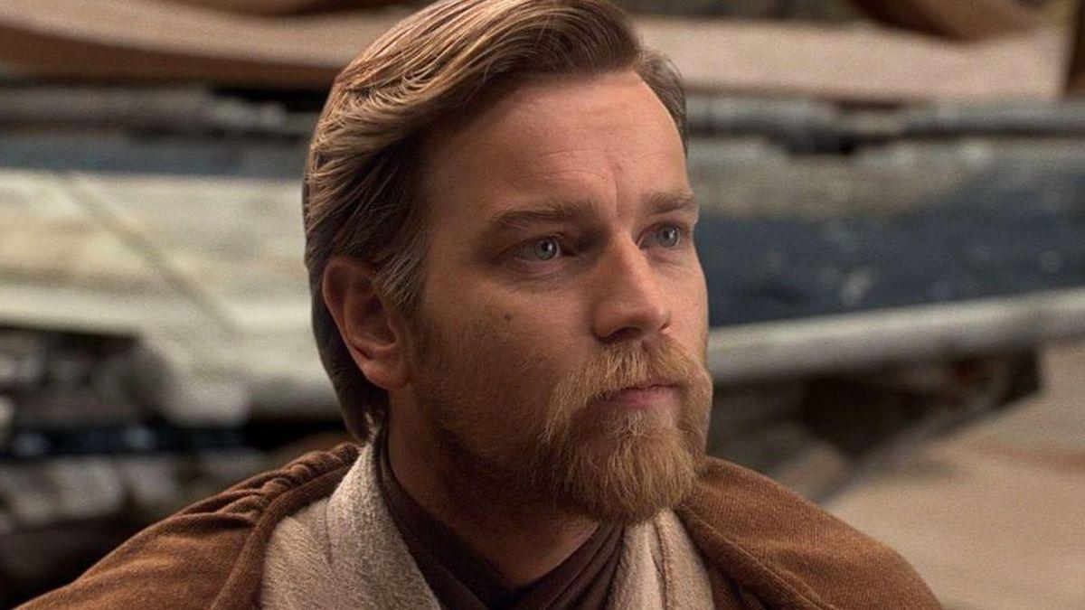 close-up of Obi-Wan Kenobi (Ewan McGregor) in the Star Wars prequels