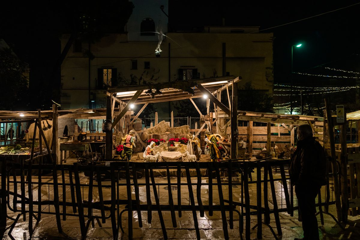 Christmas Lights In Ruvo Di Puglia