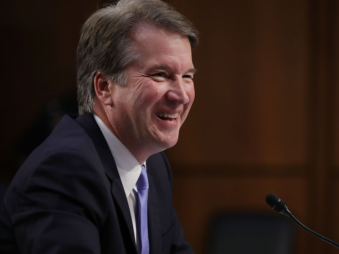 Brett Kavanaugh denies allegations of assaulting a girl in high school.