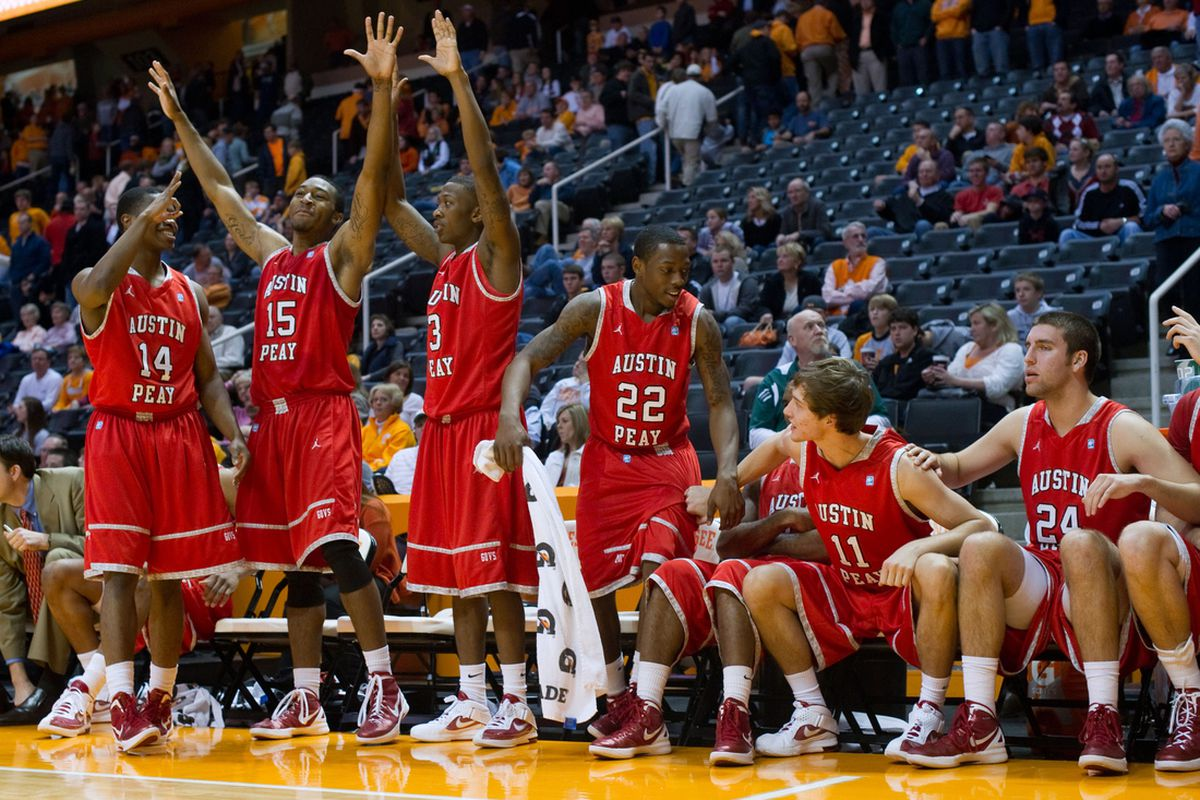 Austin Peay may celebrate a little less this season now that Jerome Clyburn is down early on