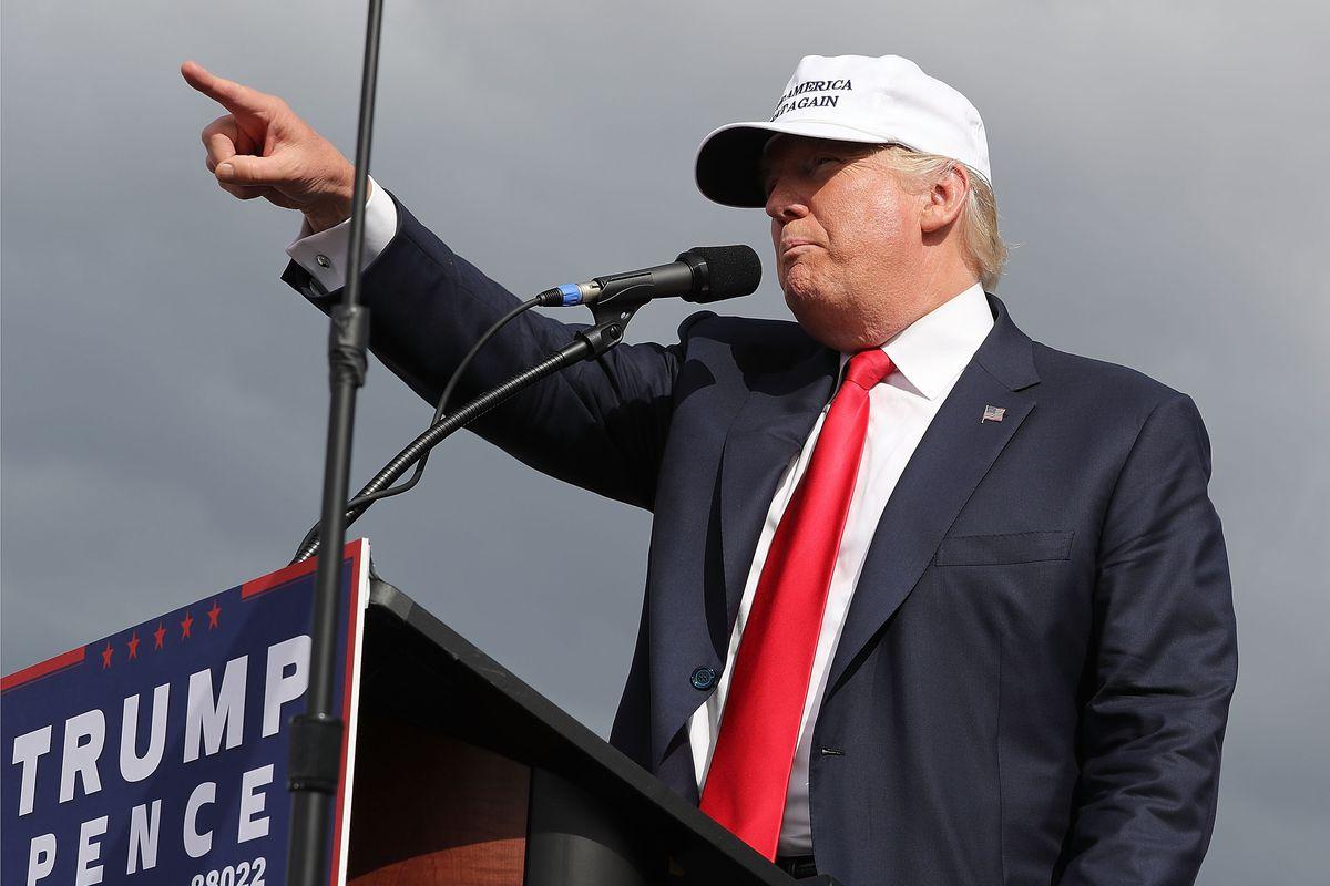 Donald Trump in Florida.