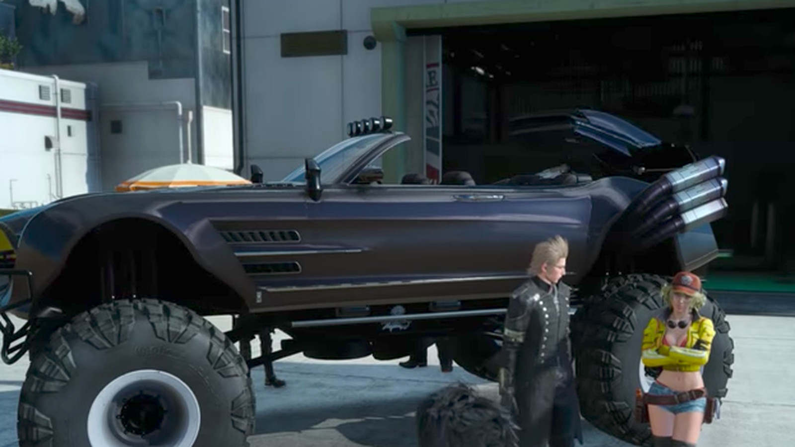 Final Fantasy 15 goes off-roading with a monster-truck ...
