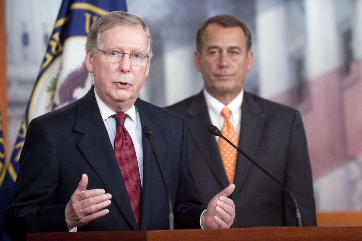 These guys — Senate Republican Leader Mitch McConnell (R-KY) and House Speaker John Boehner (R-OH) —should be playing a bigger role in the net neutrality debate.