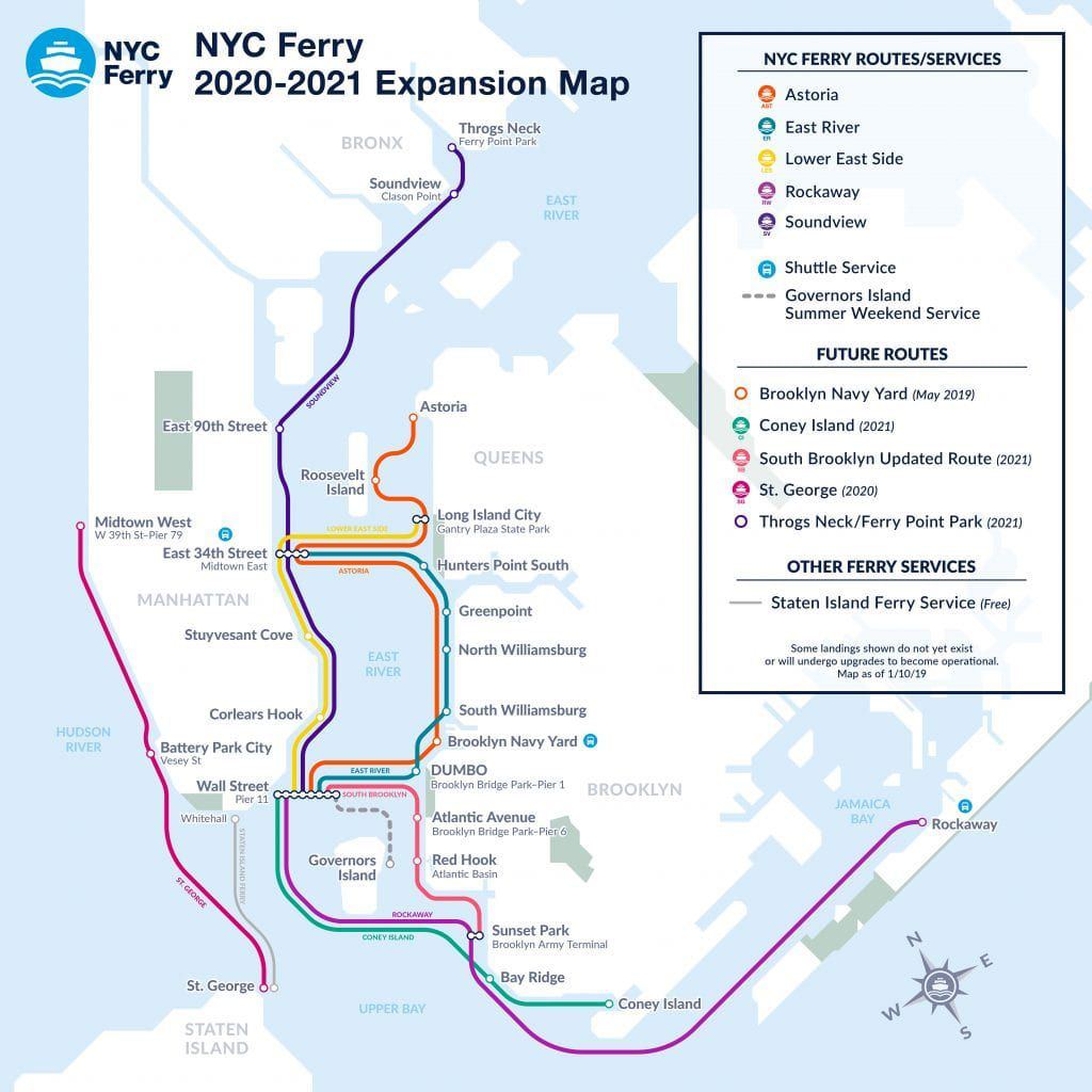 Brooklyn Staten Island Car: NYC Ferry Will Launch Service To Staten Island, Coney