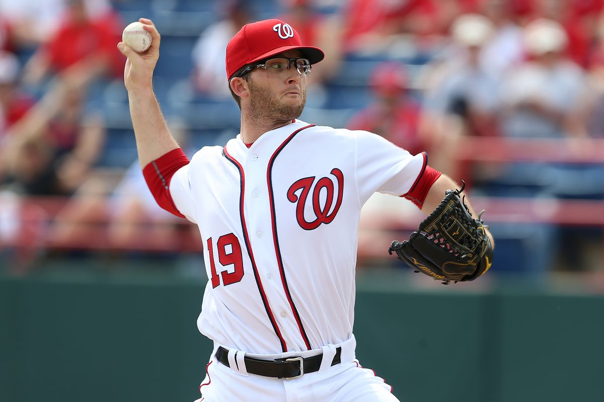 This is not a Tyler Clippard. It's Erik Davis, who was reassigned to Minor League camp today.