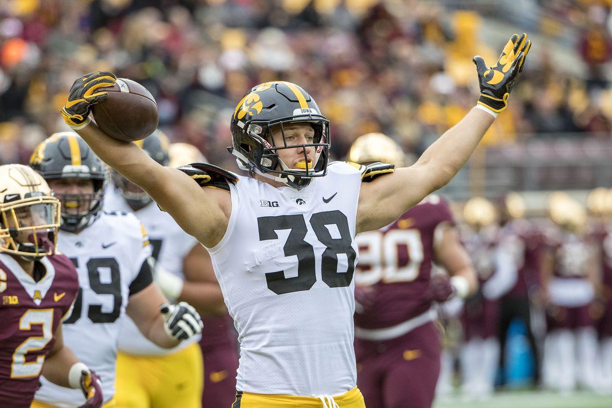 ebef3ba4a7b NFL Mock Draft 2019  Pittsburgh Steelers select T.J. Hockenson ...