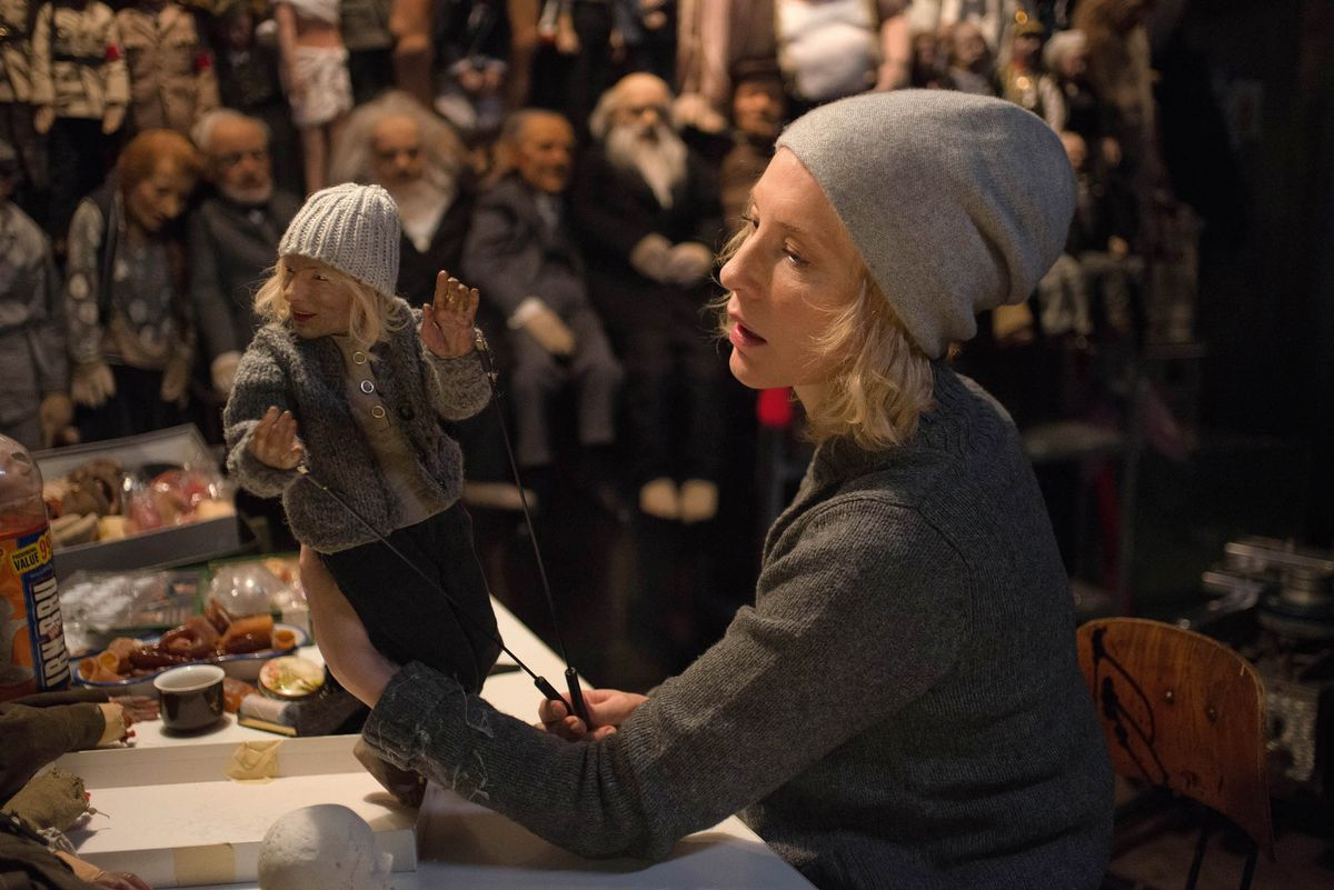 Cate Blanchett appears inManifestoby Julian Rosefeldt, an official selection of the Premieres program at the 2017 Sundance Film Festival.