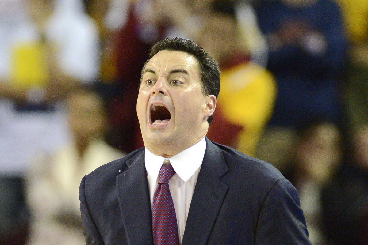 It was really hard to decide which funny picture of Sean Miller to use.