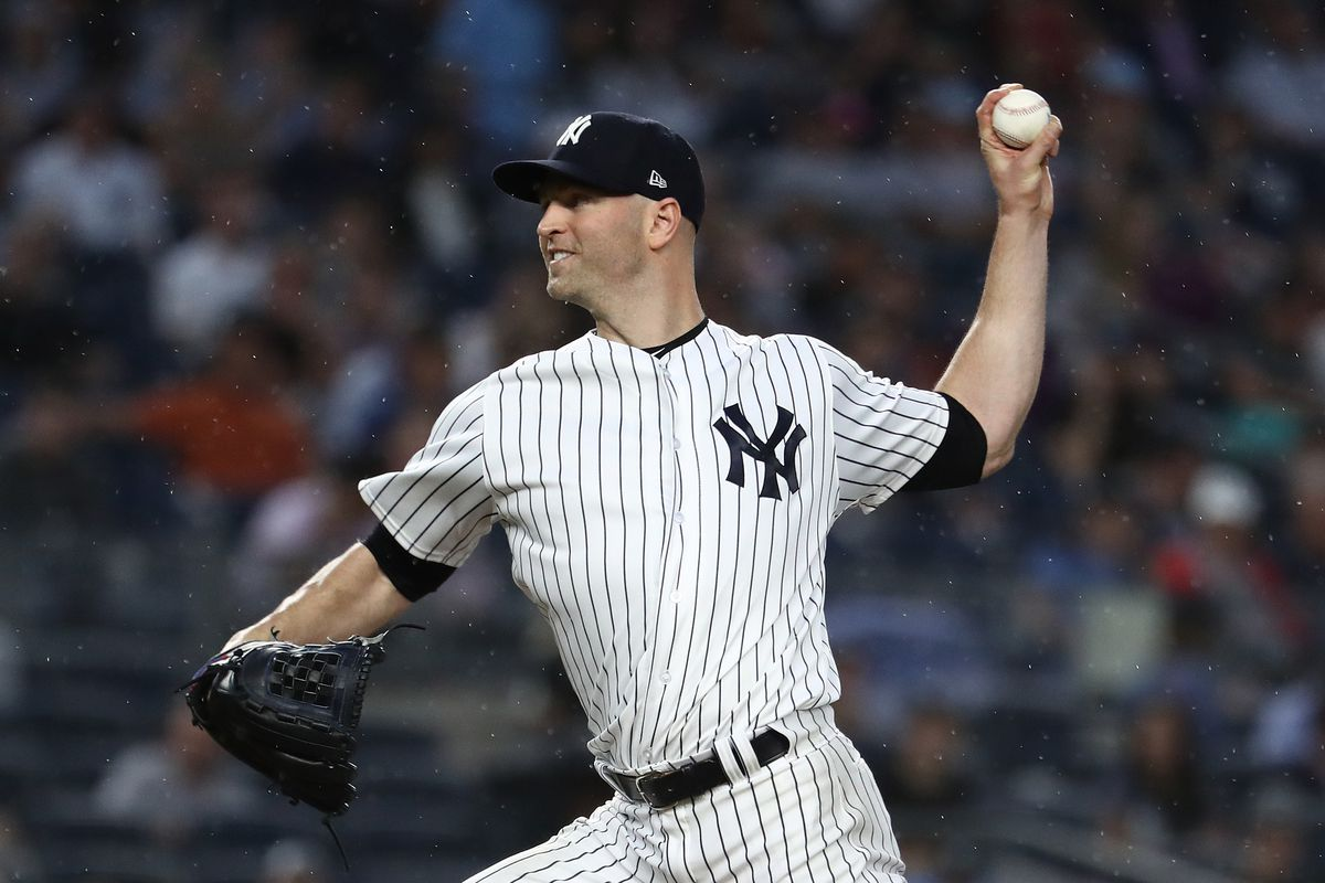 J.A. Happ is 3-0 in three starts since joining the Yankees, having pitched to a 1.89 ERA across 19 innings.