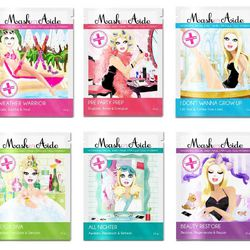 """<span class=""""credit"""">""""Don't be that girl who shows up with a bajillion full-size beauty products. Your face masks, self-tanner, and nail polish remover should stay at home. Repeat after me: packets are the name of the game. <b>Maskeraide Facial Sheet Mask"""