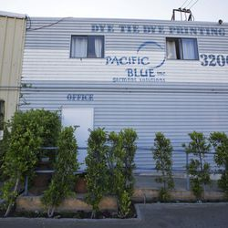 The design studio, conference rooms and offices of the founders are all inside the House of Pacific Blue.