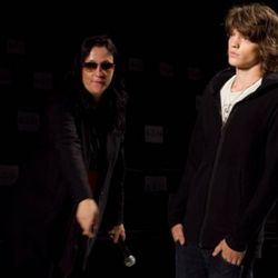 Kelly Cutrone tells a male model where to go at Nicolas K
