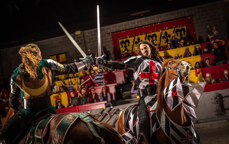 Knights jousting and more pageantry returns to Medieval Times in Schaumburg starting Wednesday night.