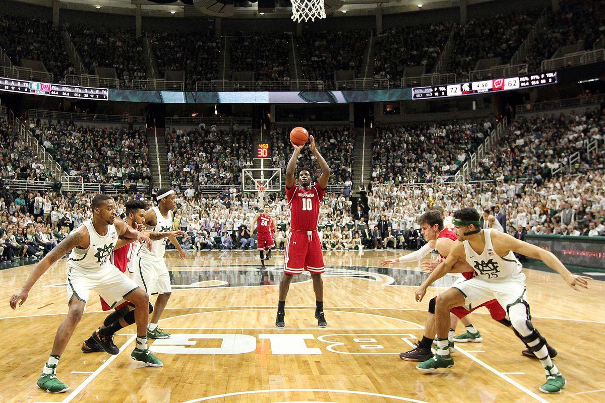 NCAA Basketball: Wisconsin at Michigan State
