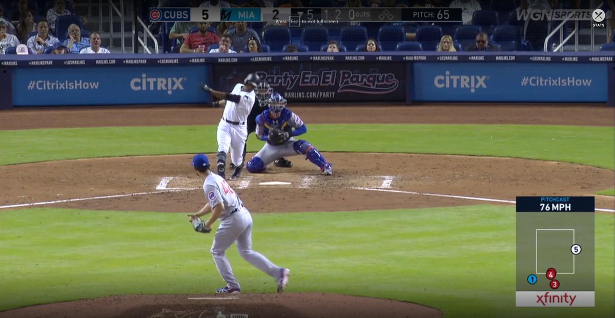 Sara's Snapshots: Yu Darvish's fifth inning in Miami - Bleed Cubbie Blue