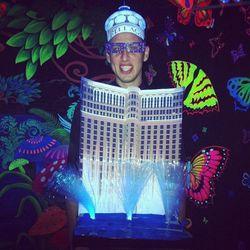The Bellagio Las Vegas fountain show!
