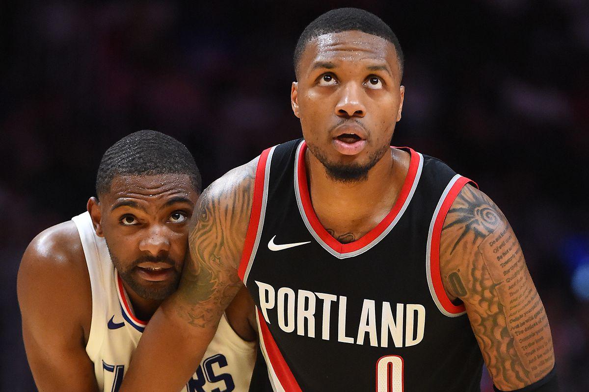 NBA: Preseason-Portland Trail Blazers at Los Angeles Clippers