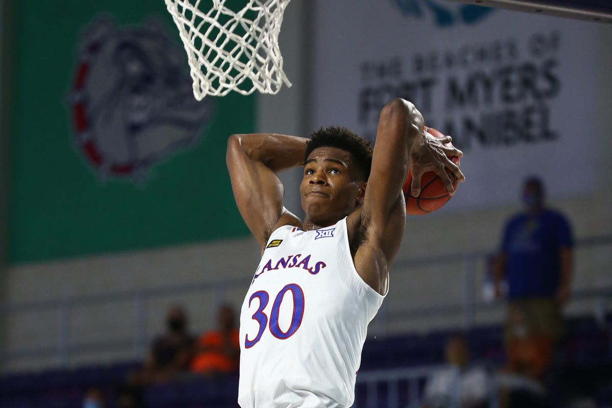 NCAA Basketball: Kansas at St. Joseph