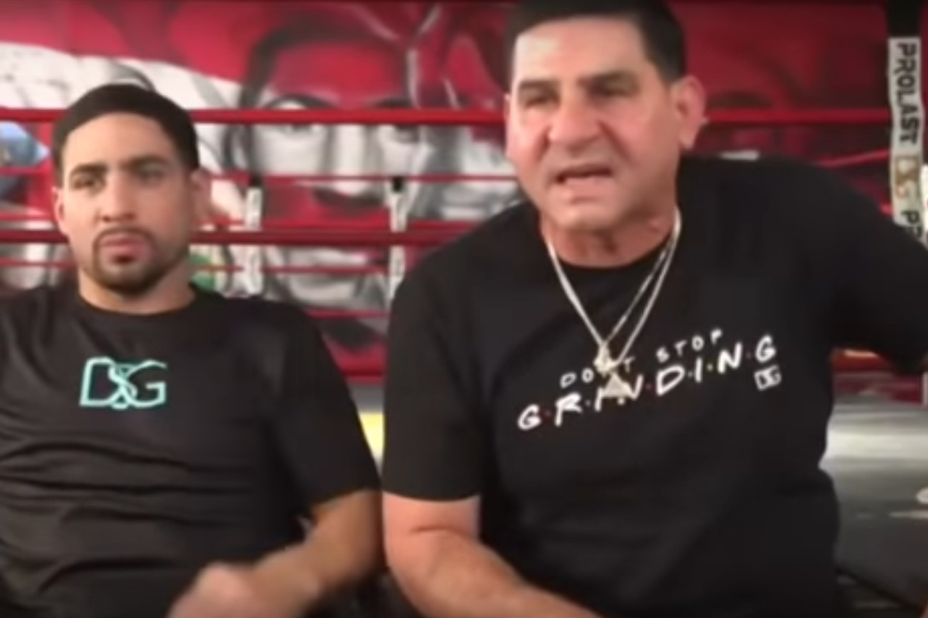 Screen Shot 2020 11 11 at 8.52.19 AM.0 - Angel Garcia goes off on 'moron' reporter during media interview