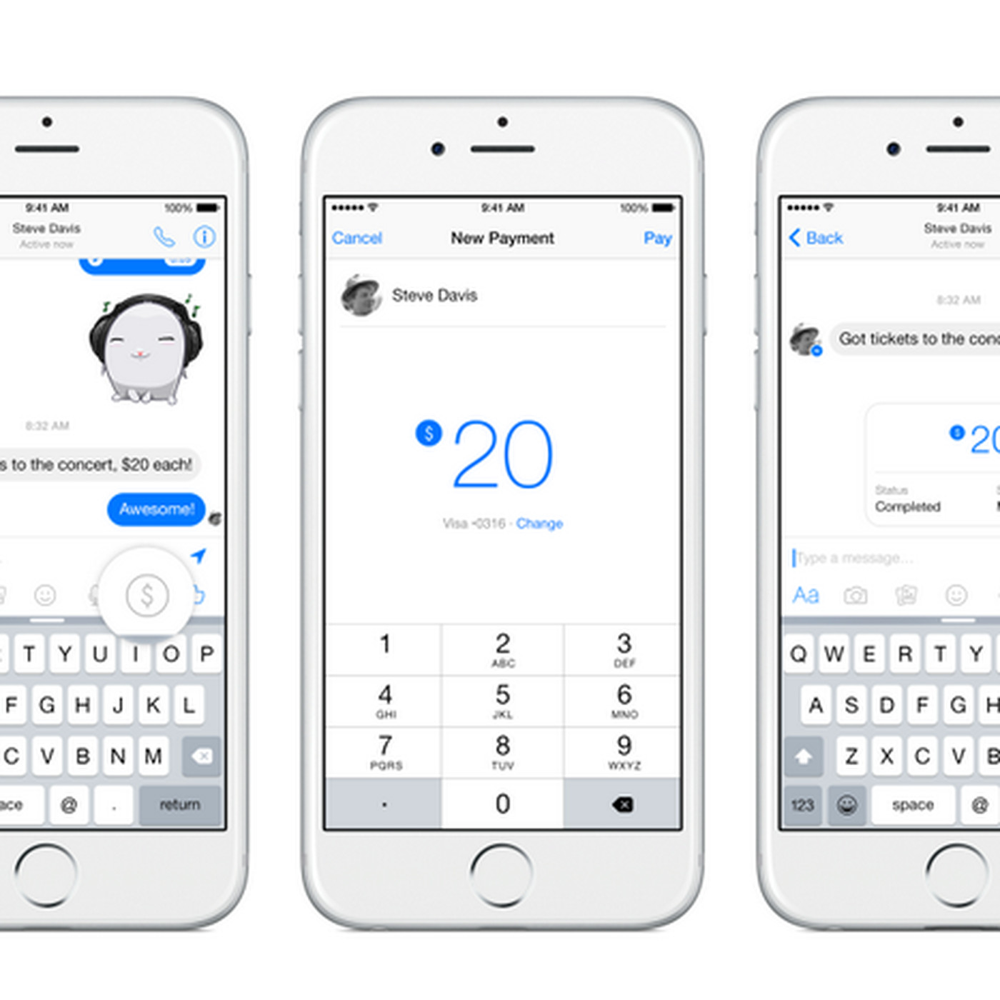 Facebook Messenger will now let you send money to friends - The Verge