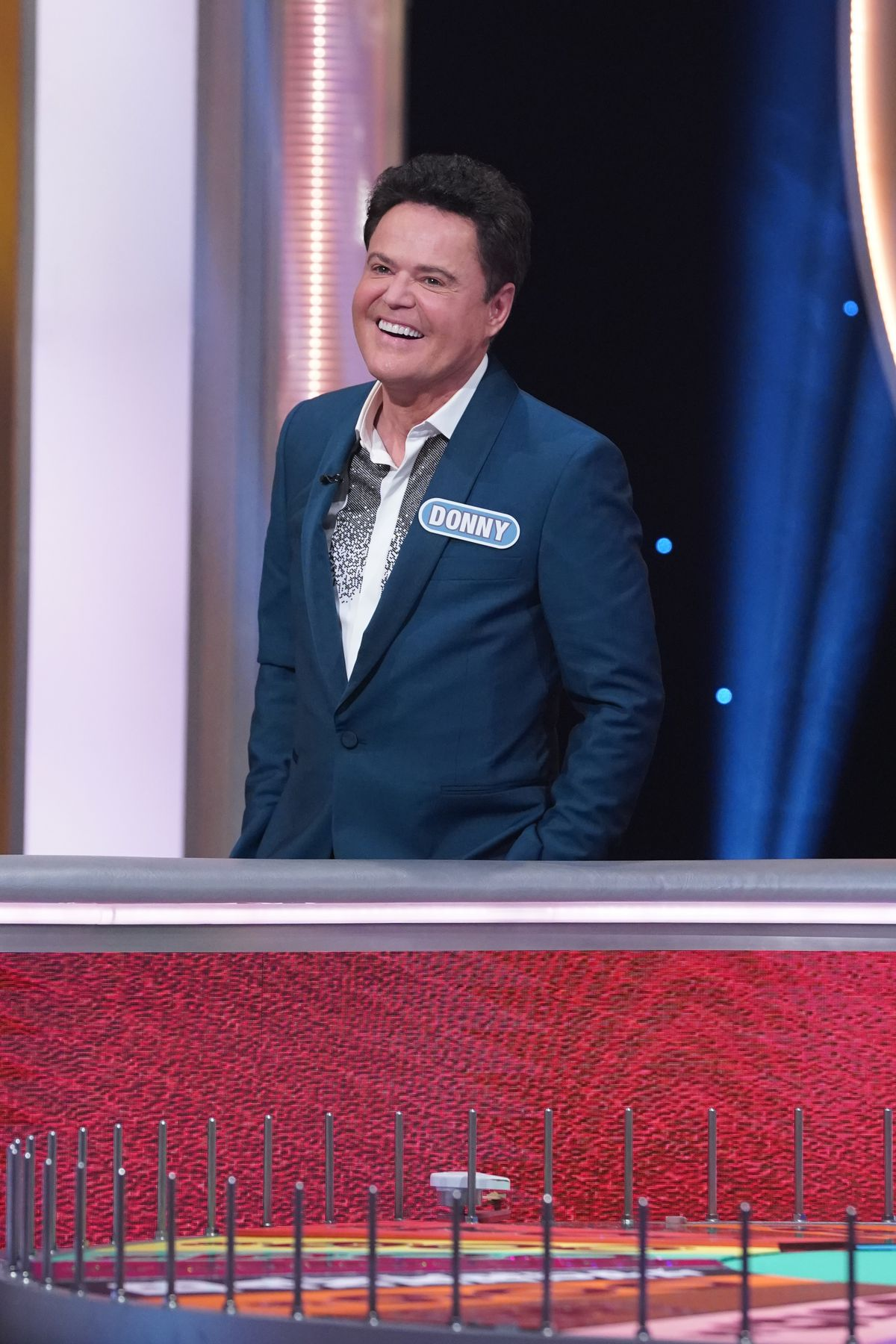 """Donny Osmond competes on a celebrity edition of """"Wheel of Fortune."""""""