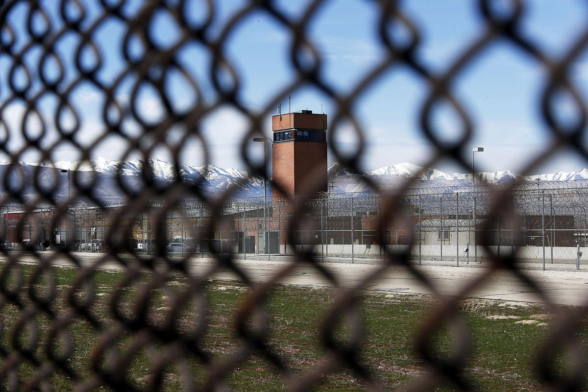 The Utah State Prison in Draper, Wednesday, March 5, 2014.