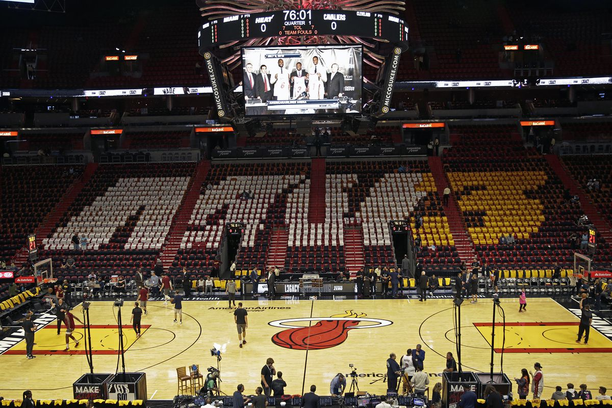Cleveland at Miami