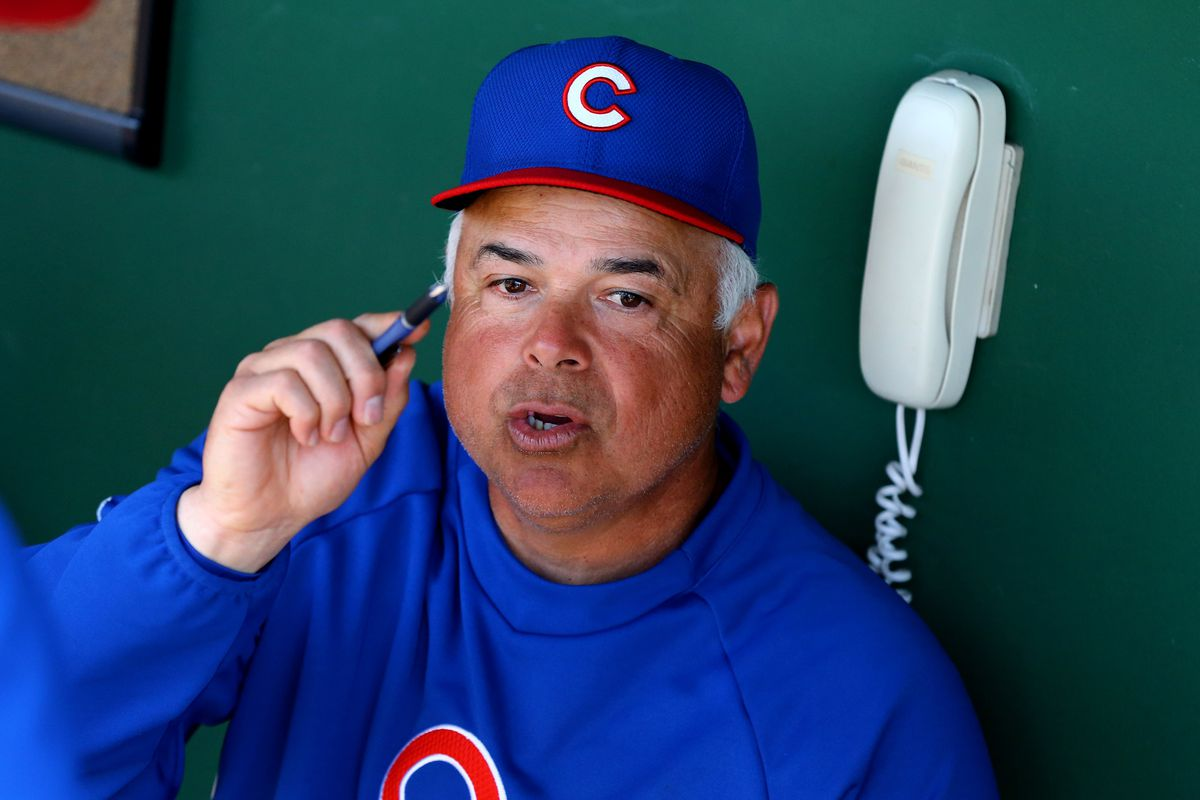 What lesson is Rick Renteria teaching here?
