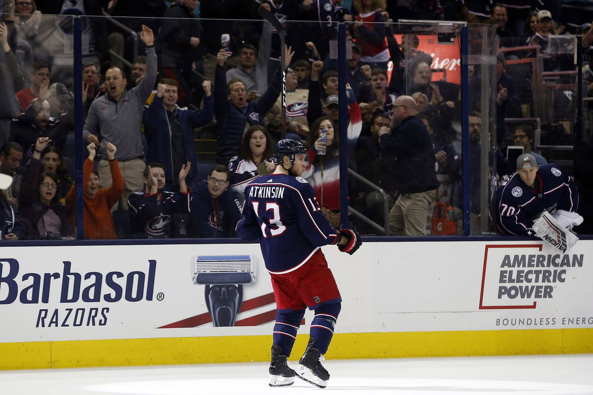 NHL: Detroit Red Wings at Columbus Blue Jackets