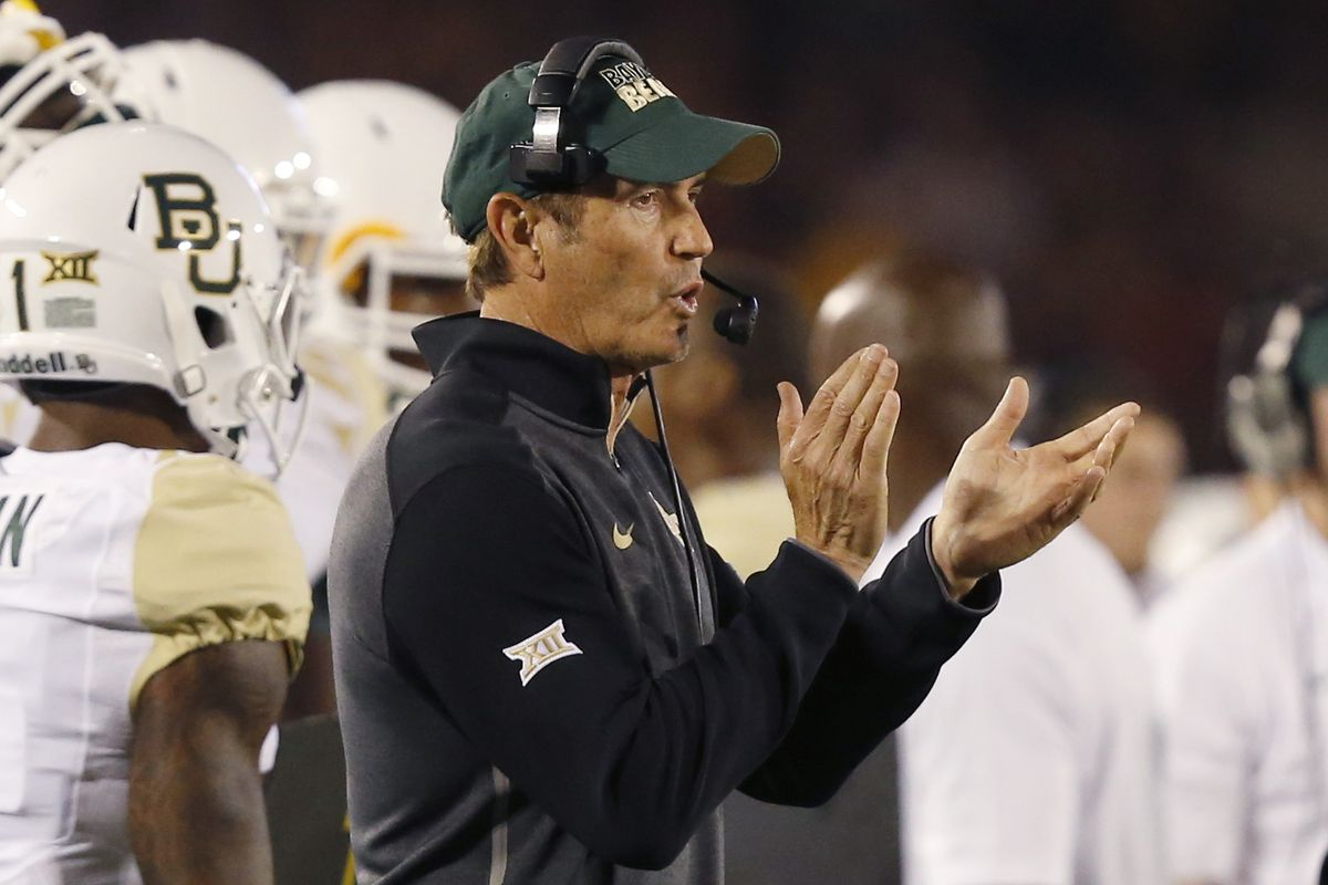 """""""Fantastic, it's another OurDailyPodcast live show!"""" -Art Briles, probably."""