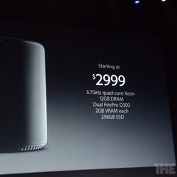 Apple's powerful, cylindrical new Mac Pro will cost $2,999 this