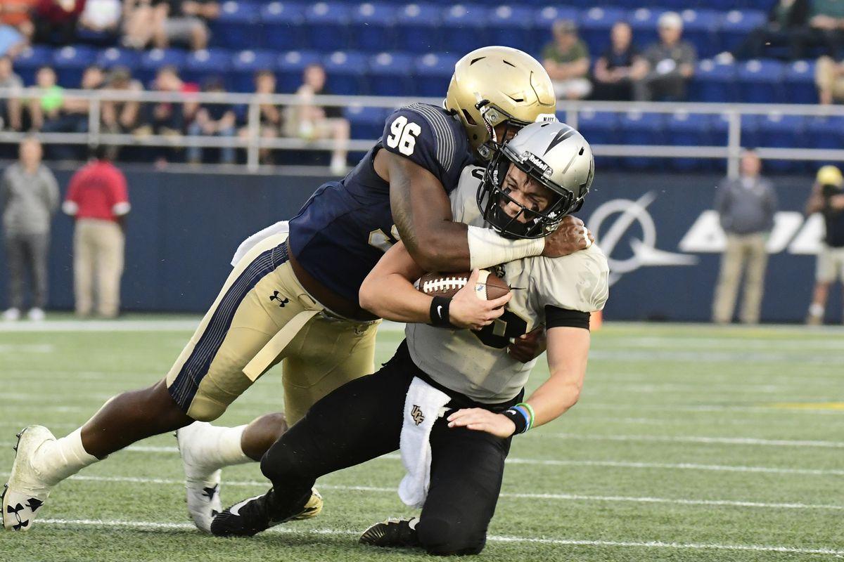 NCAA Football: Central Florida at Navy