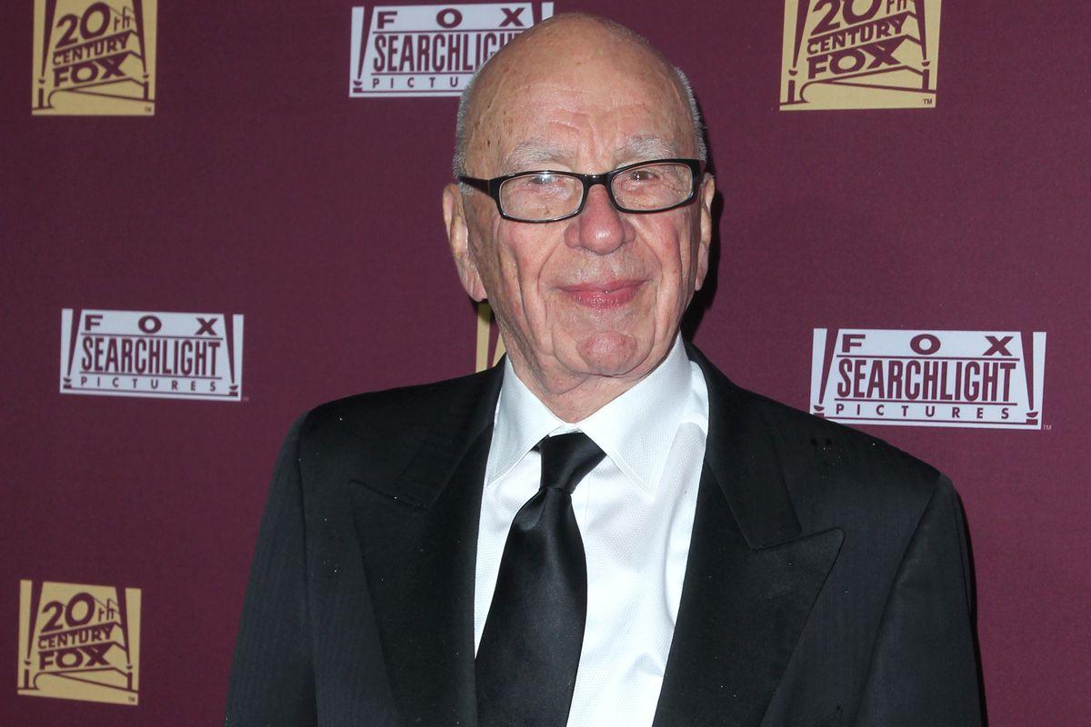 Rupert Murdoch attends the 21st Century Fox and Fox Searchlight Oscar Party.