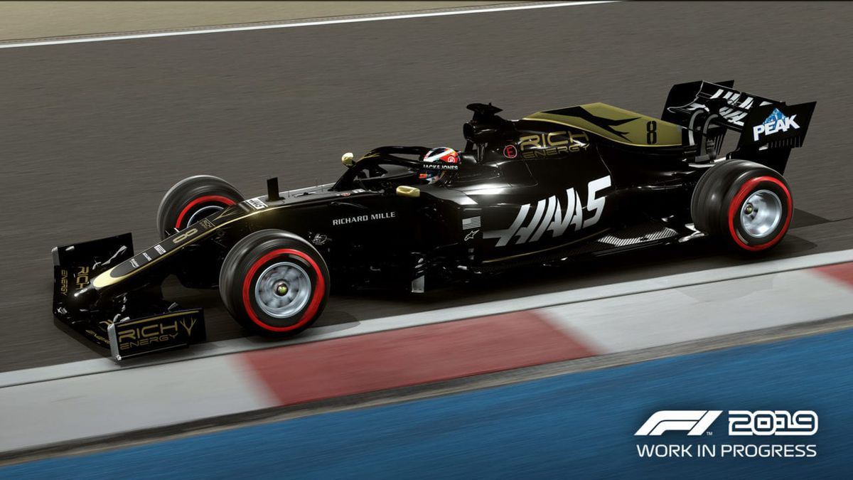 Haas Racing in F1 2019 by Codemasters