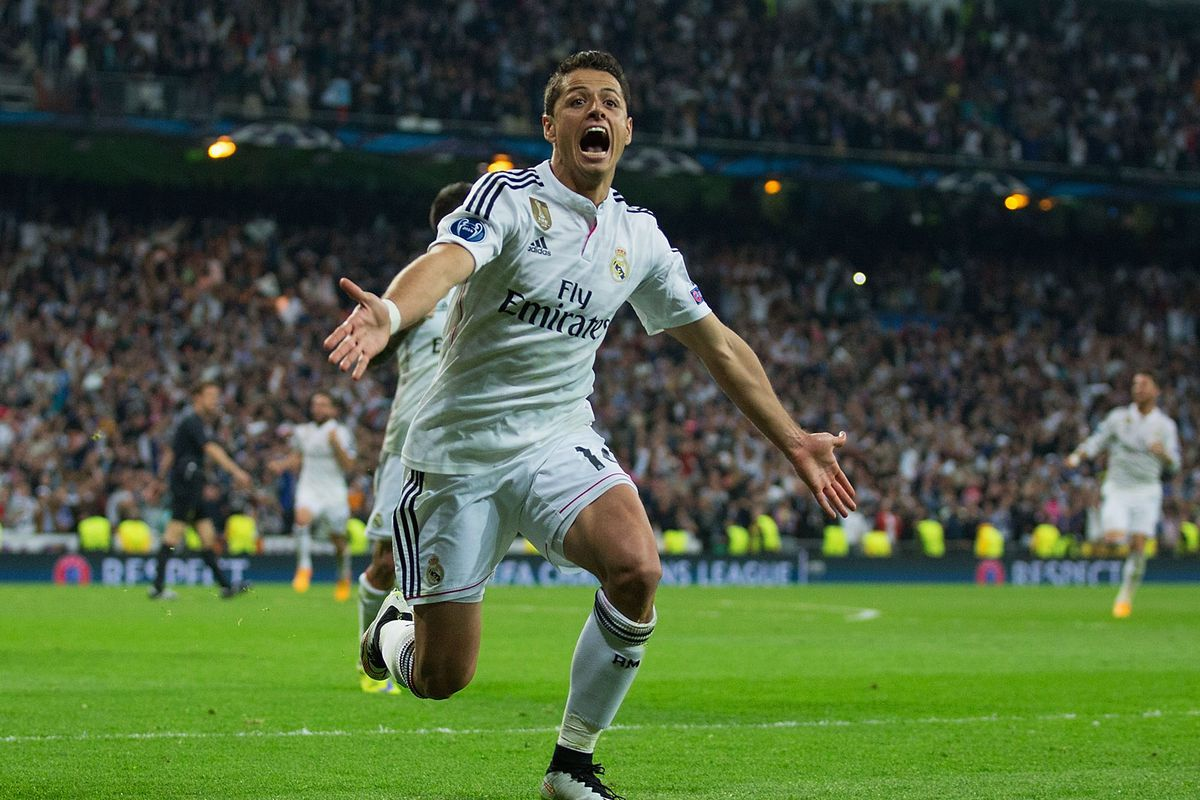 On This Day In 2015: Chicharito Sends Real Madrid To The Champions League Semi-finals With A Late Winner Vs Atletico - Managing Madrid