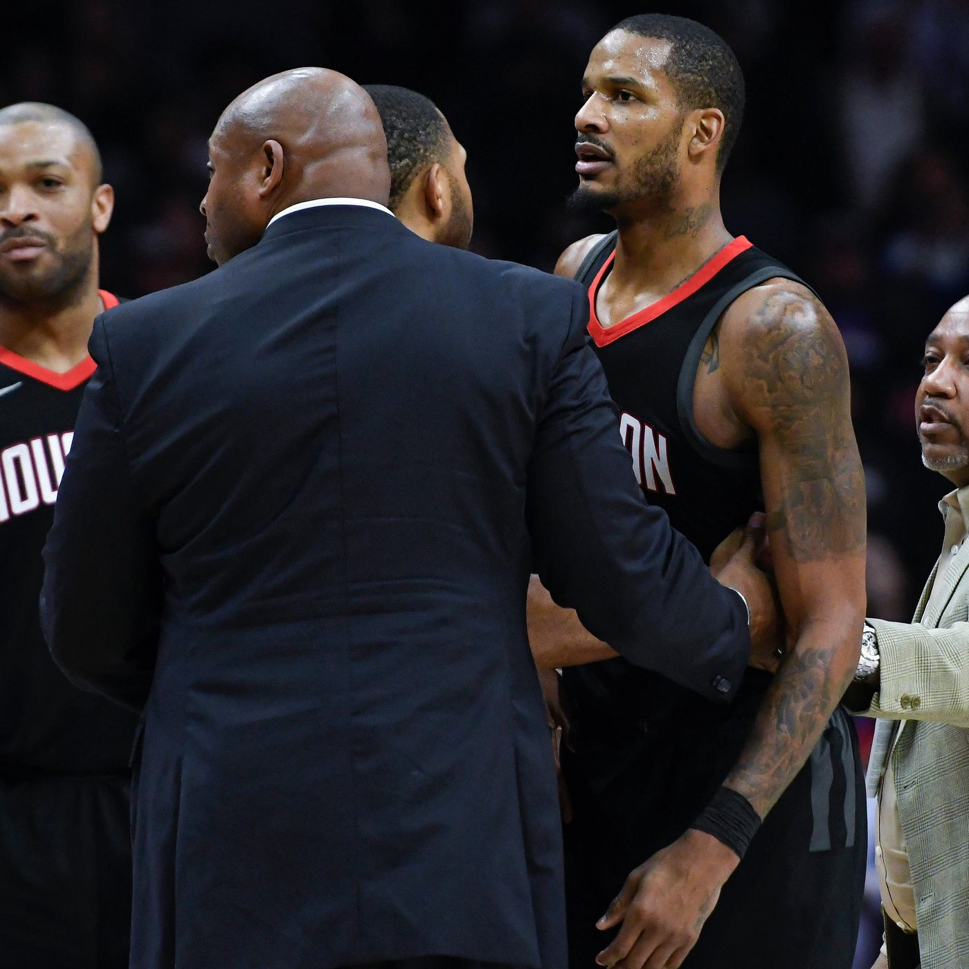 7a0ae9573d51 Clippers vs. Rockets  Here s how the locker room fight went down -  SBNation.com