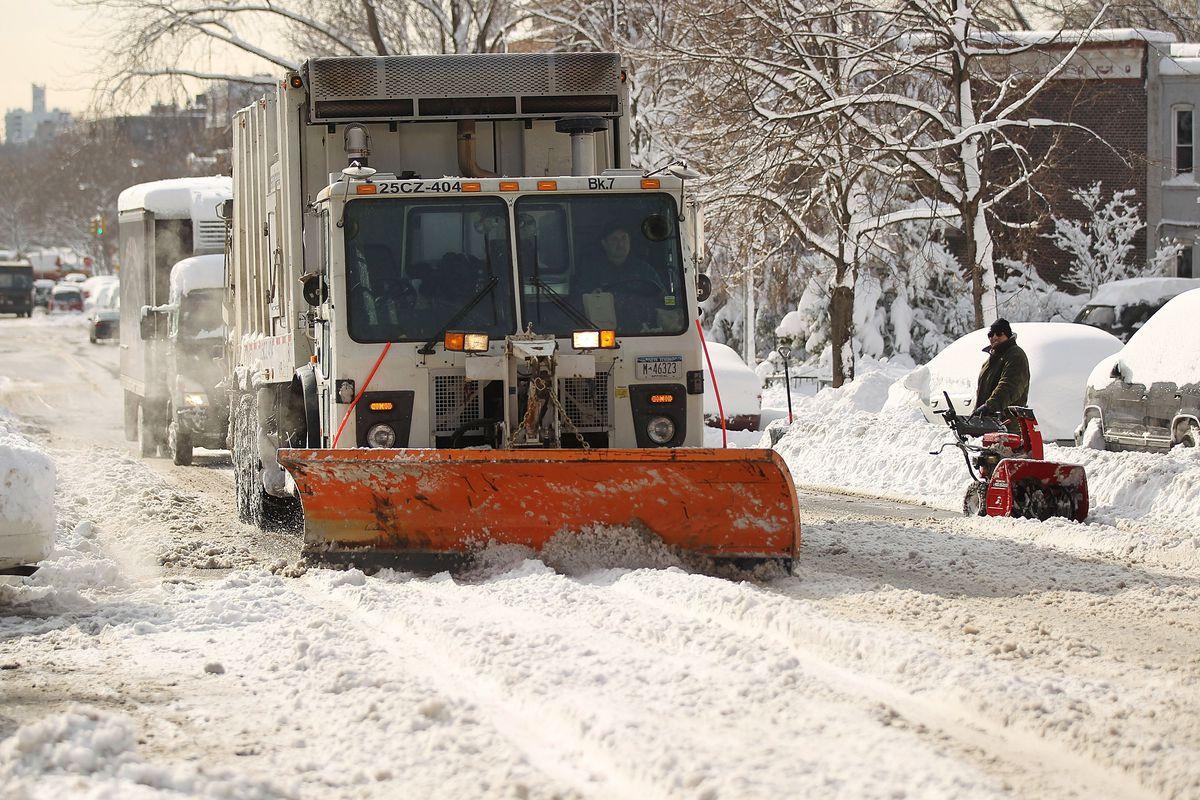 Another Winter Snowstorm Strikes U.S. East Coast