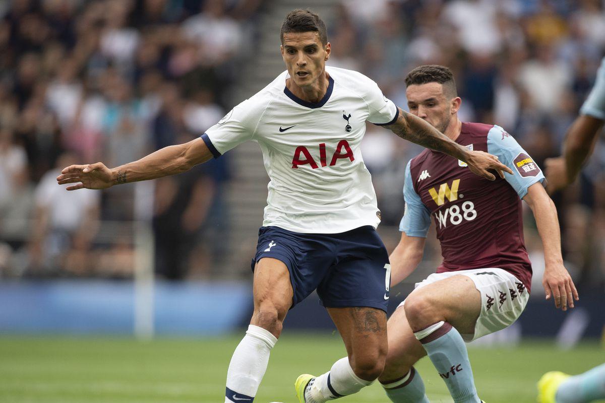 Kết quả hình ảnh cho Aston Villa vs Tottenham Hotspur
