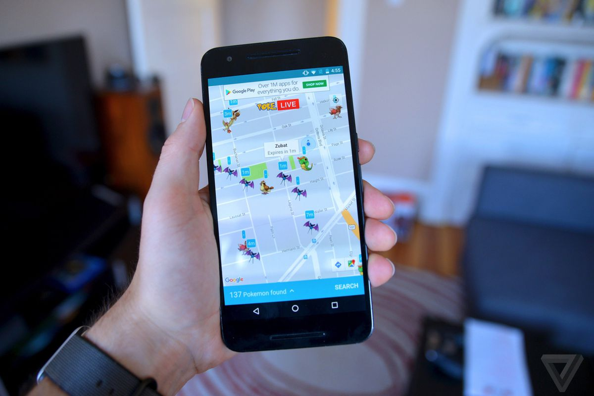 This Android app is the best way to find pokémon on the go