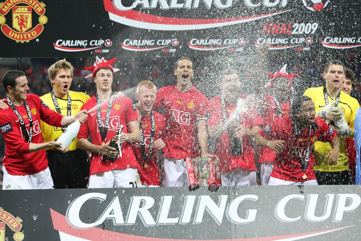 Soccer - Carling Cup - Final - Manchester United v Tottenham Hotspur - Wembley Stadium