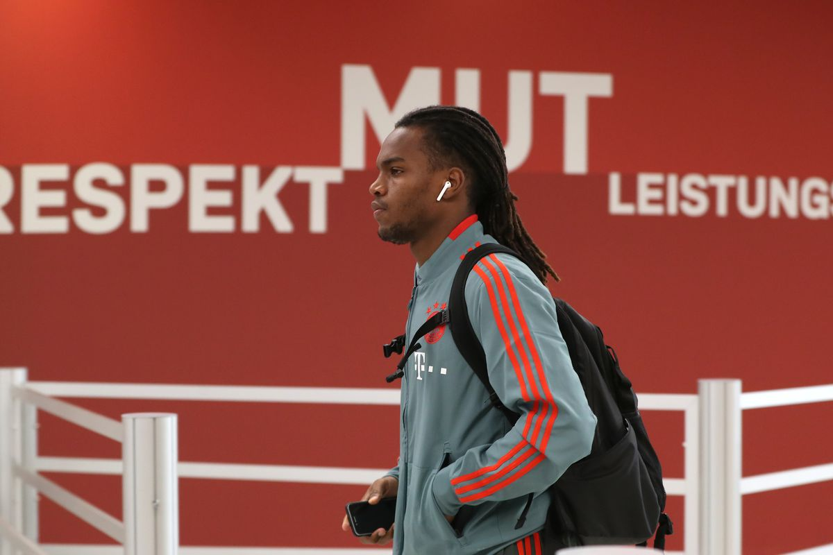 MUNICH, GERMANY - MARCH 17: Renato Sanches of FC Bayern Muenchen arrives at the players' tunnel before the Bundesliga match between FC Bayern Muenchen and 1. FSV Mainz 05 at Allianz Arena on March 17, 2019 in Munich, Germany.