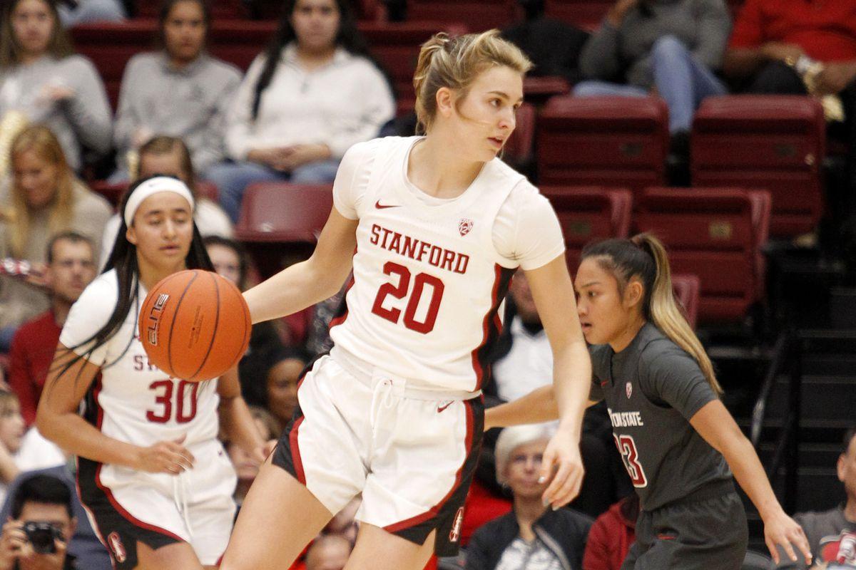 COLLEGE BASKETBALL: JAN 03 Women's Washington State at Stanford