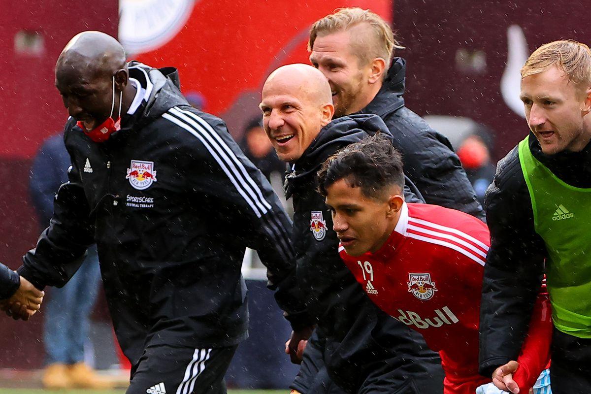 SOCCER: MAY 29 MLS - Orlando City SC at New York Red Bulls