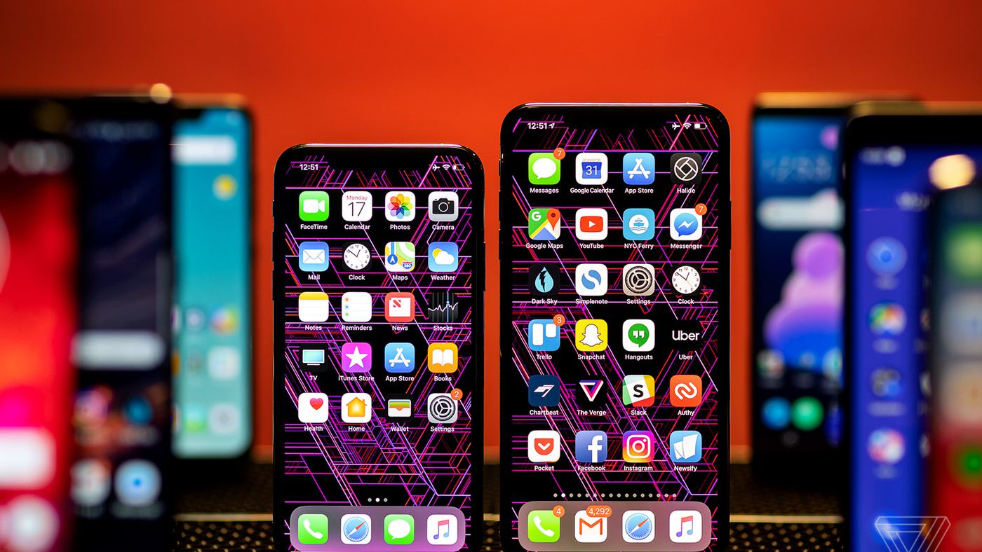 apple and samsung feel the sting of plateauing smartphones the verge