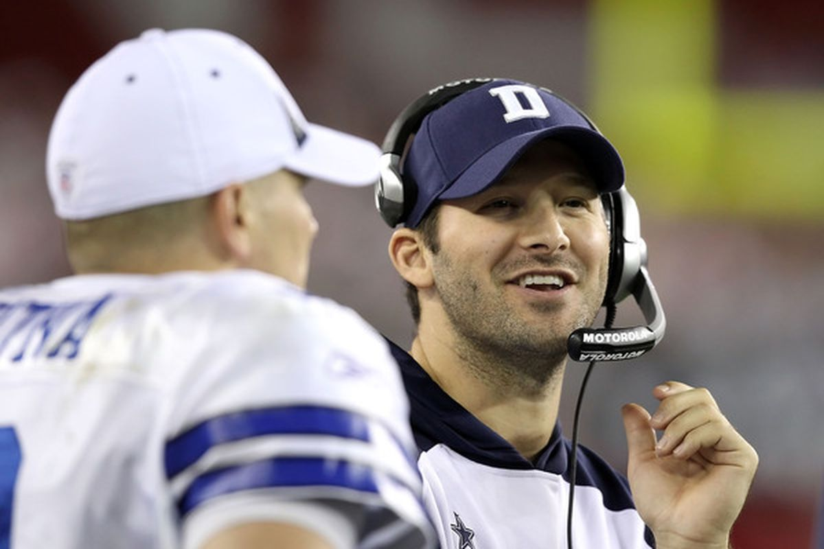 I'd love to hear what Tony Romo has to say, I just don't want to hear it on the network of the opposition.