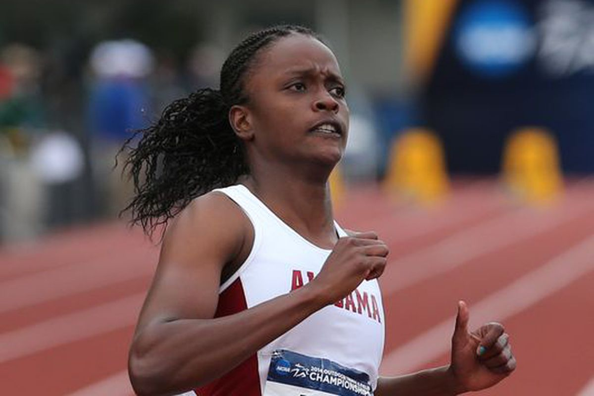 Alabama sprinter Remona Burchell won her second consecutive gold in the 60m at the 2015 NCAA Indoor Track & Field championships last weekend.