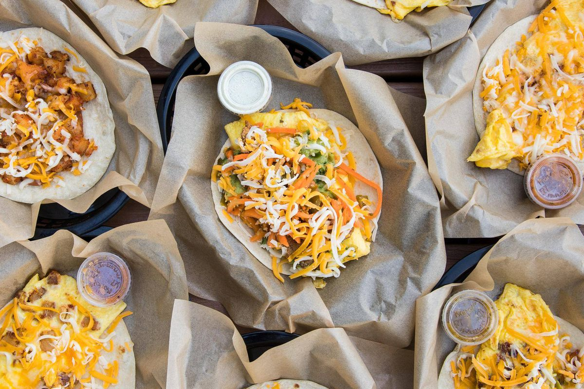 Tacos from Torchy's Tacos