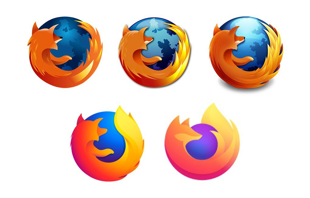 Firefox S New Logo Has More Fire Less Fox The Verge