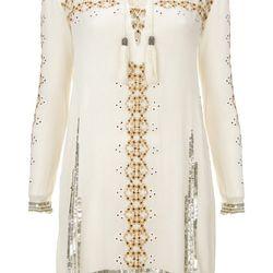 Folk Smock Dress, $170